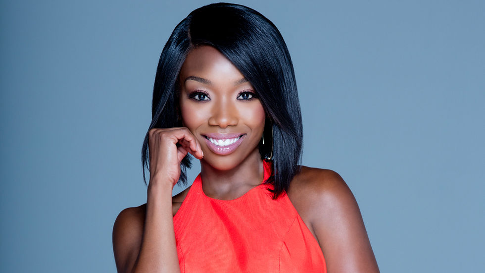 An image of Brandy Norwood who plays Zoe on Zoe Ever After