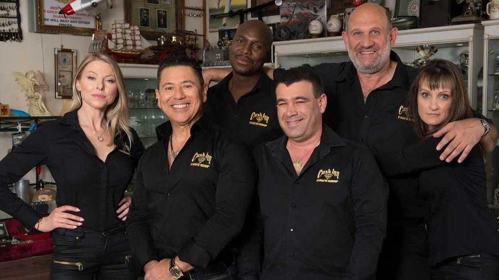 The cast of Pawn Stars SA.