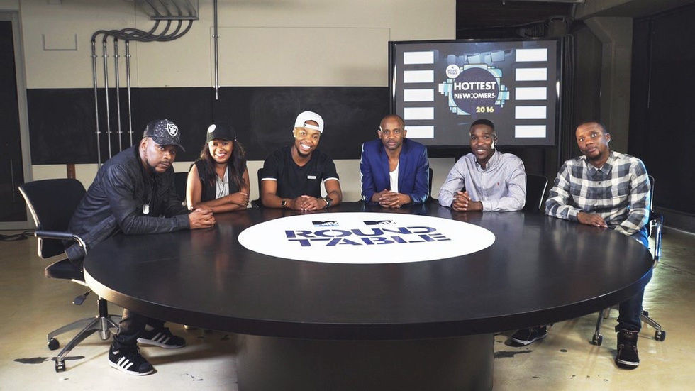 The panel from MTV Base Roundtable: Hottest Newcomers 2016.