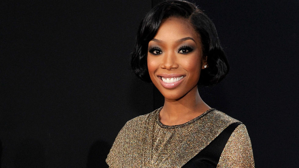 Singer and actress Brandy Norwood on the red carpet