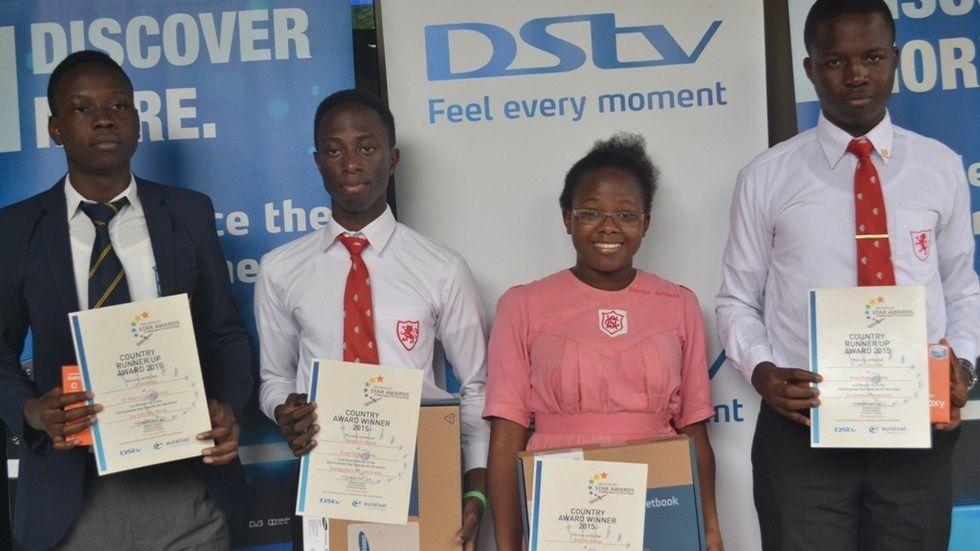 Eutelsat Uganda team
