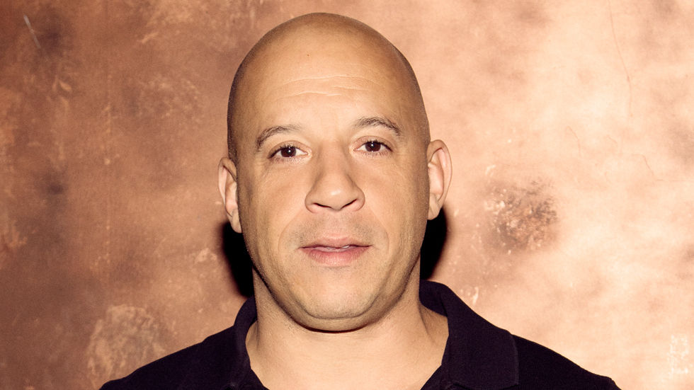 A Getty image of Vin Diesel