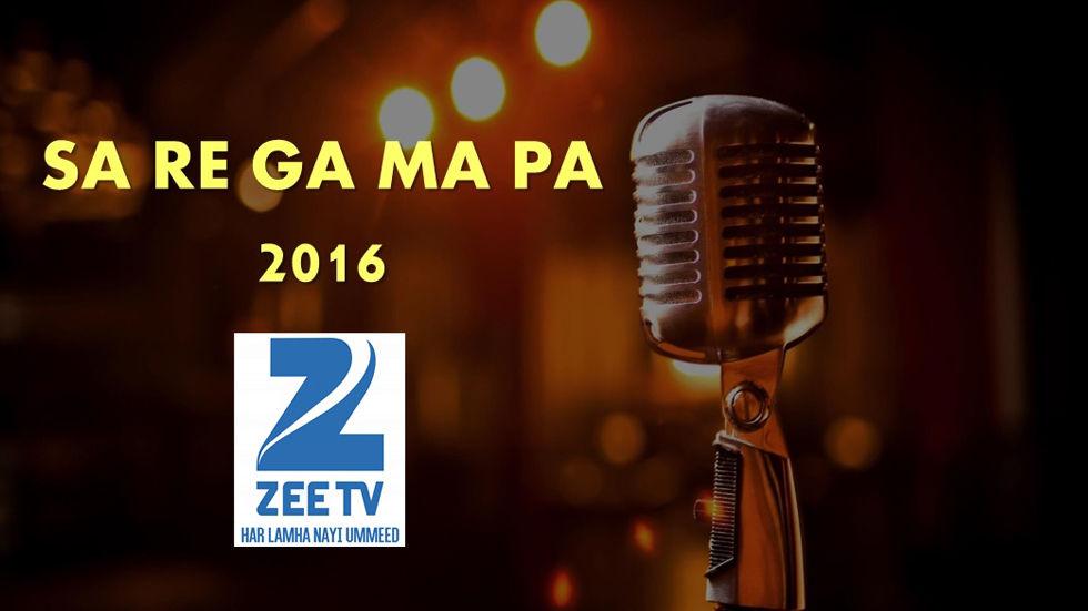 Sa Re Ga Ma Pa on Zee TV on DStv Indian