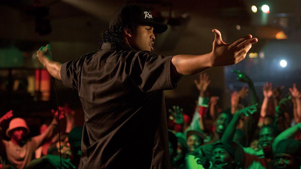 O'Shea Jackson Jr in Straight Outta Compton.