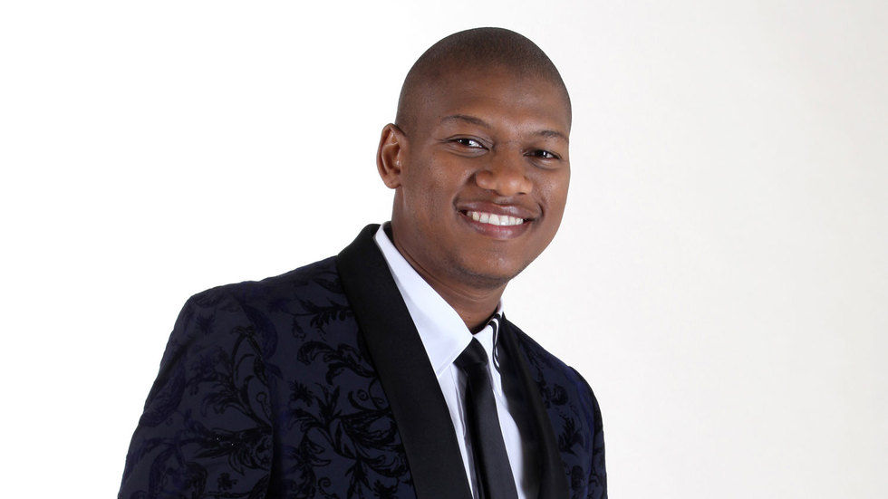 Idols SA presenter and co-executive producer Proverb.
