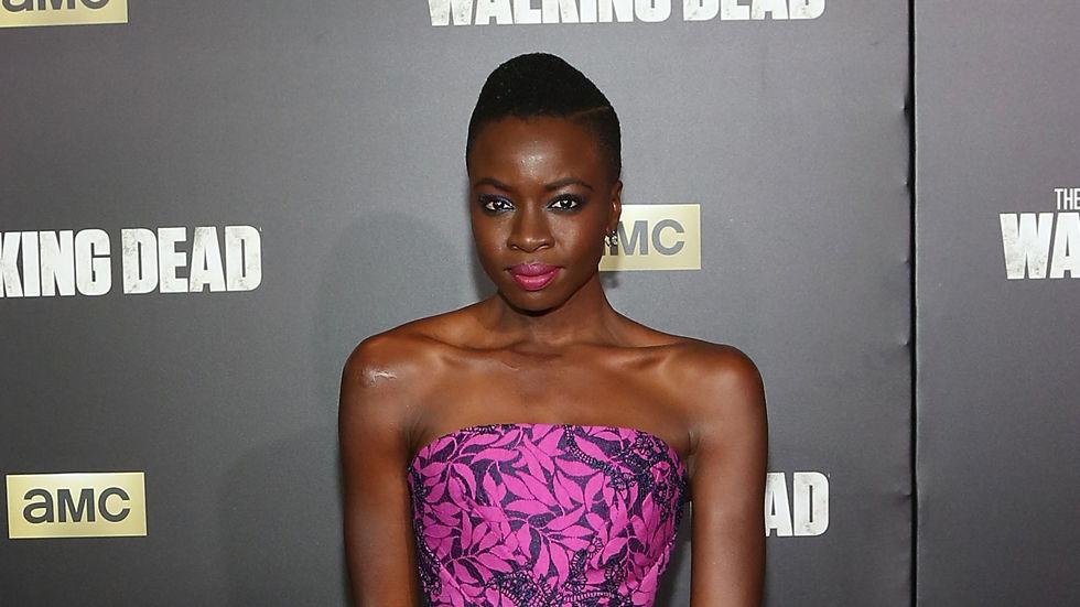 Zimbabwean actress Danai Gurira