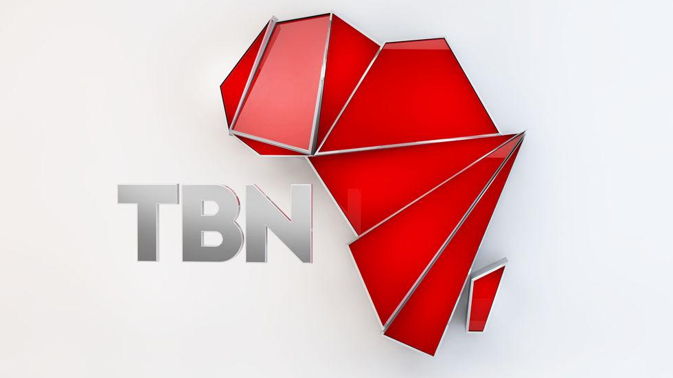 Channel logo for TBN, on DStv