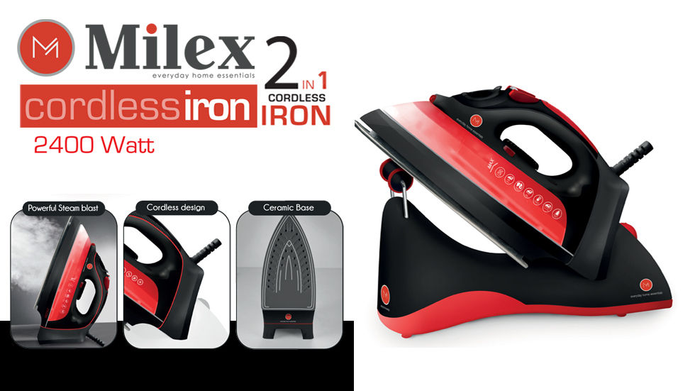 Brands on Demand - HomeMark - Milex Cordless Iron