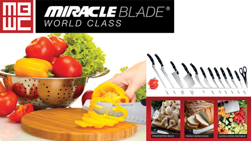 Brands on Demand - HomeMark - Miracle Blade