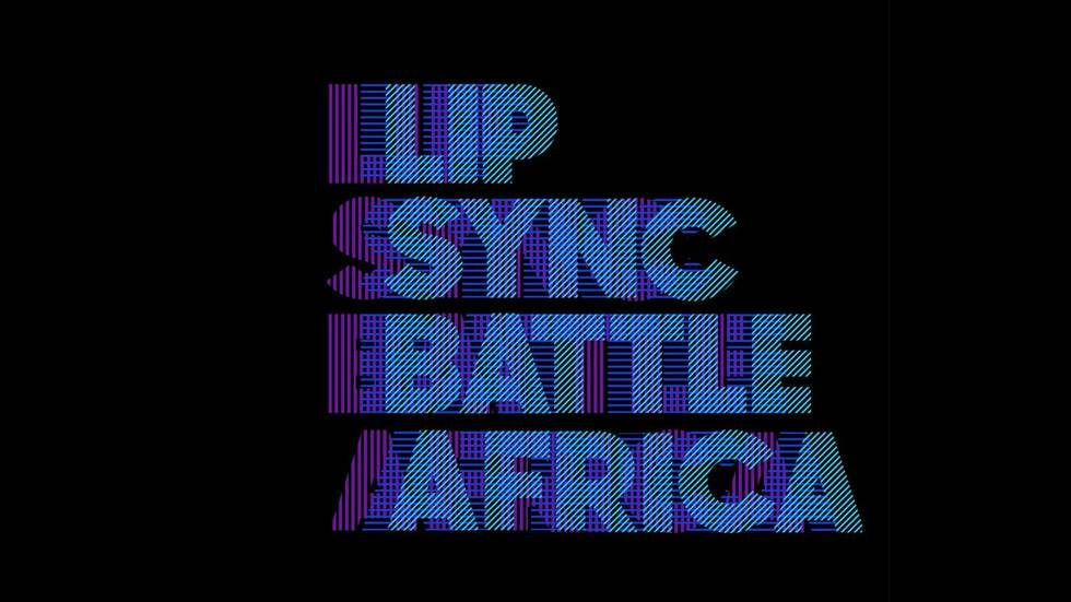 Lip Sync Battle Africa logo.
