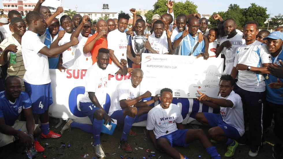 Bandari FC wins the DStv Cup