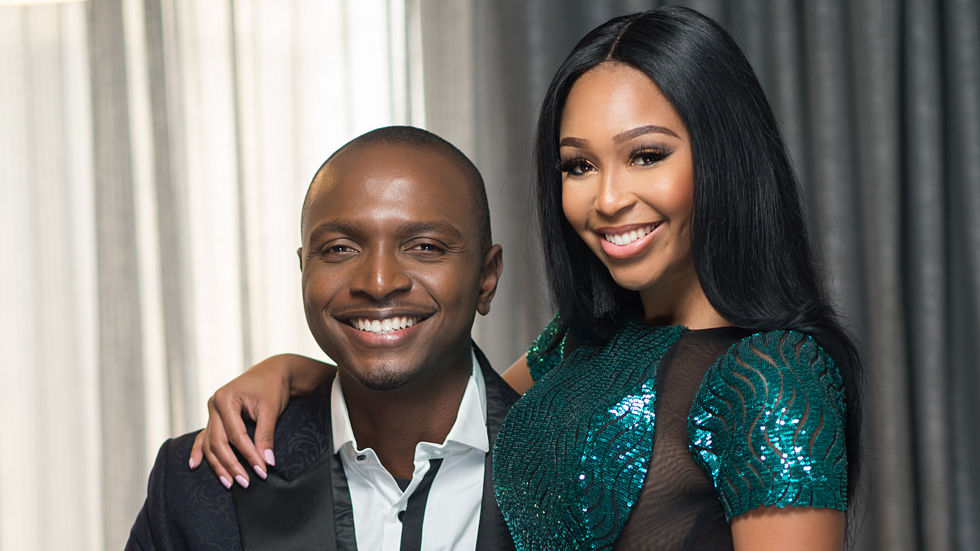 IK Osakioduwa and Minnie Dlamini, hosts for the 2016 Africa Magic Viewers' Choice Awards