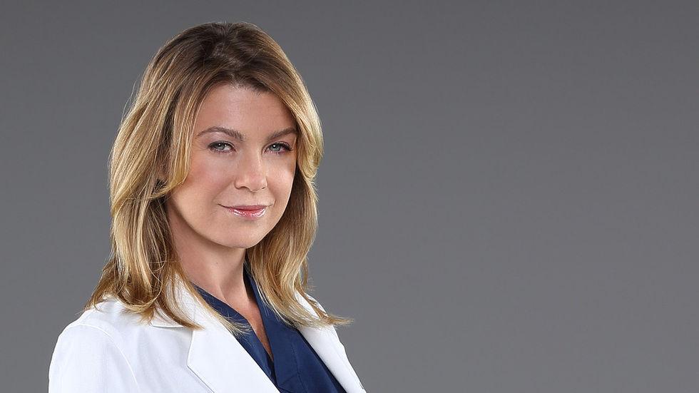 Meredith Grey close up
