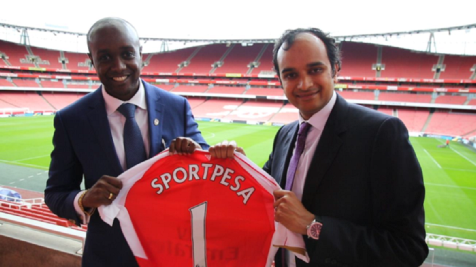 SportPesa manager and Arsenal official