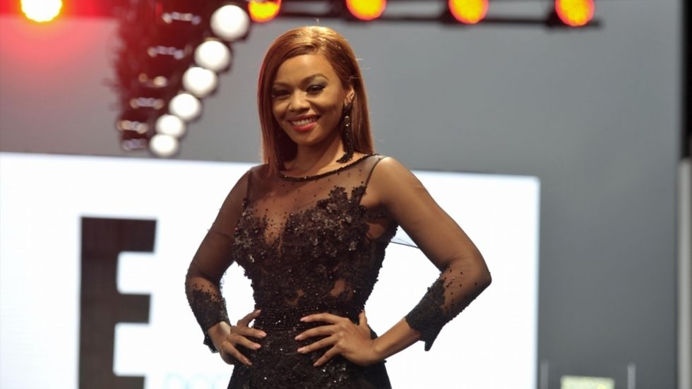 Bonang, E!, red carpet party
