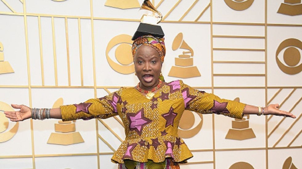 Angelique Kidjo at the GRAMMYs