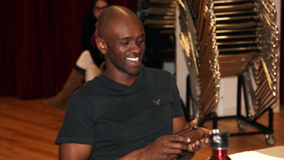 Kenyan Hollywood actor Owiso Odera