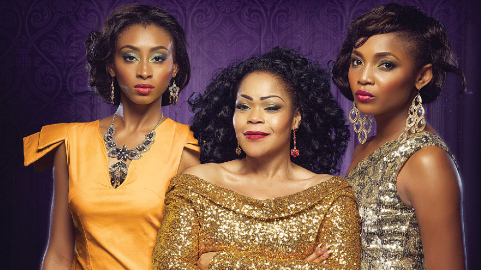 An image of the women cast from taste Of Love on AfricaMagic Showcase