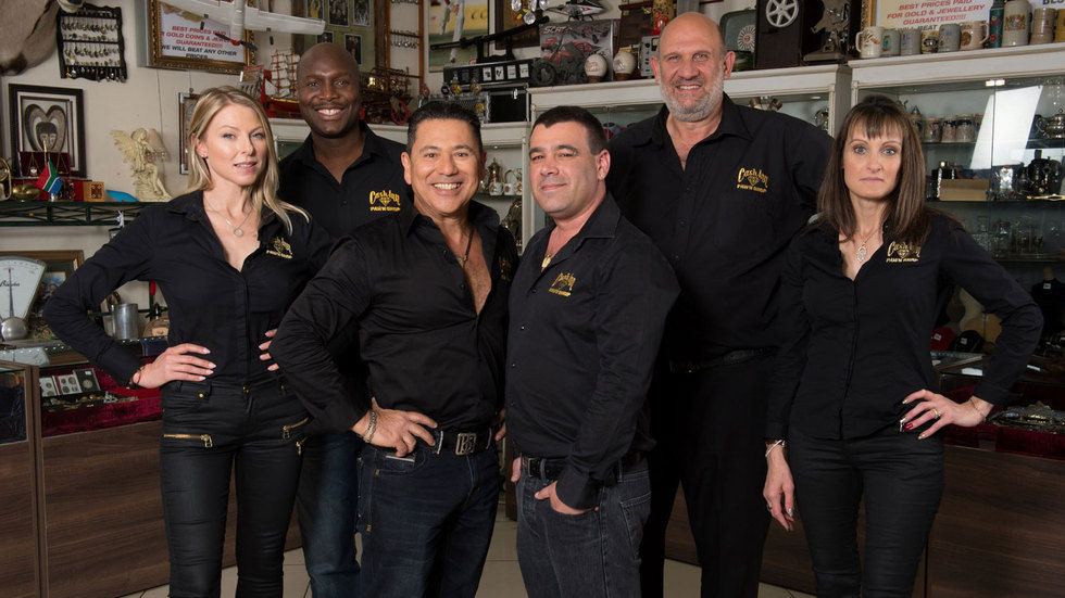 Cast of Pawn Stars SA.