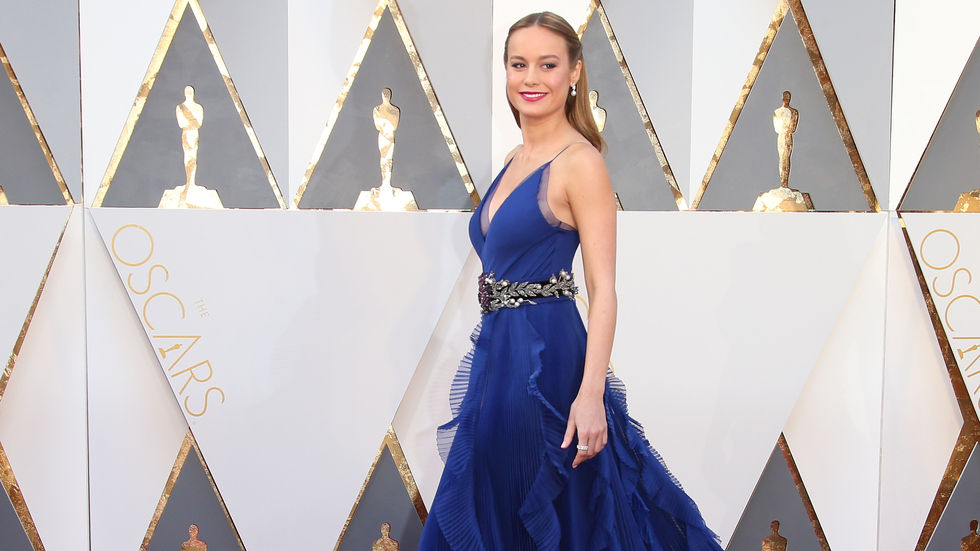 Brie Larson, 2016 Oscars, gown, dress