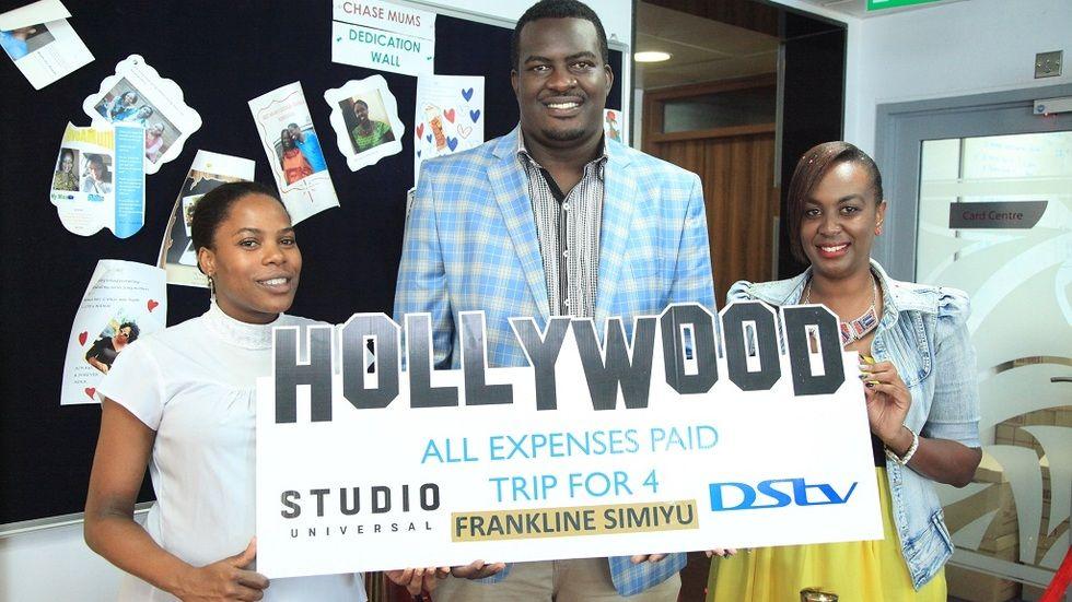 DStv Universal winner Frankline Simiyu