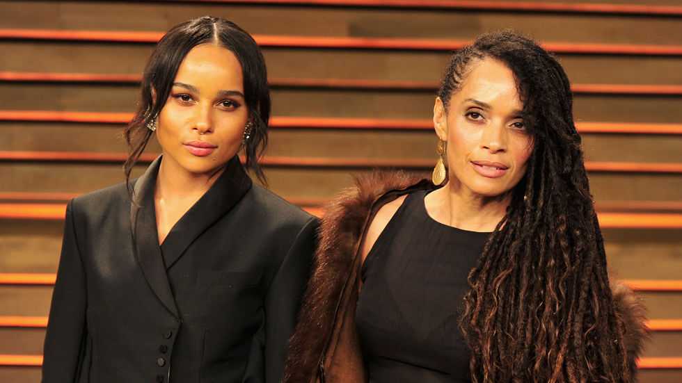 Lisa Bonet and her daughter, Zoë Kravitz.