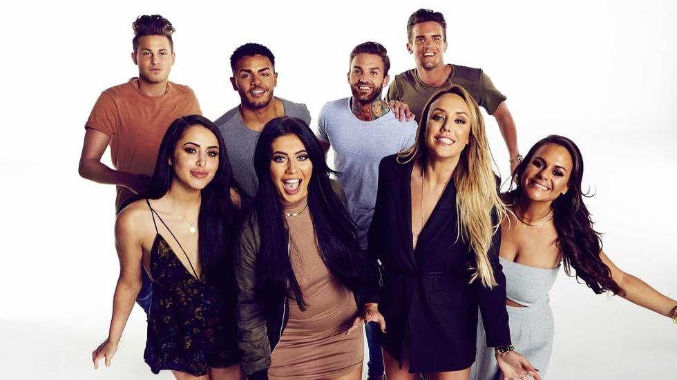 The cast of reality show Gordie Shore.