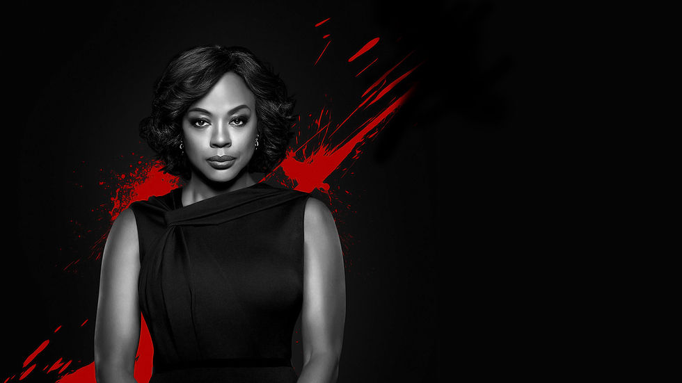 Viola Davis as Annalise Keating in How to Get Away with Murder.