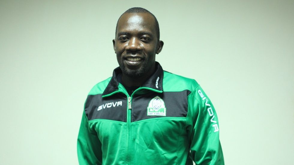 Gor Mahia keeper and captain Jerry Onyango (Jagoal)