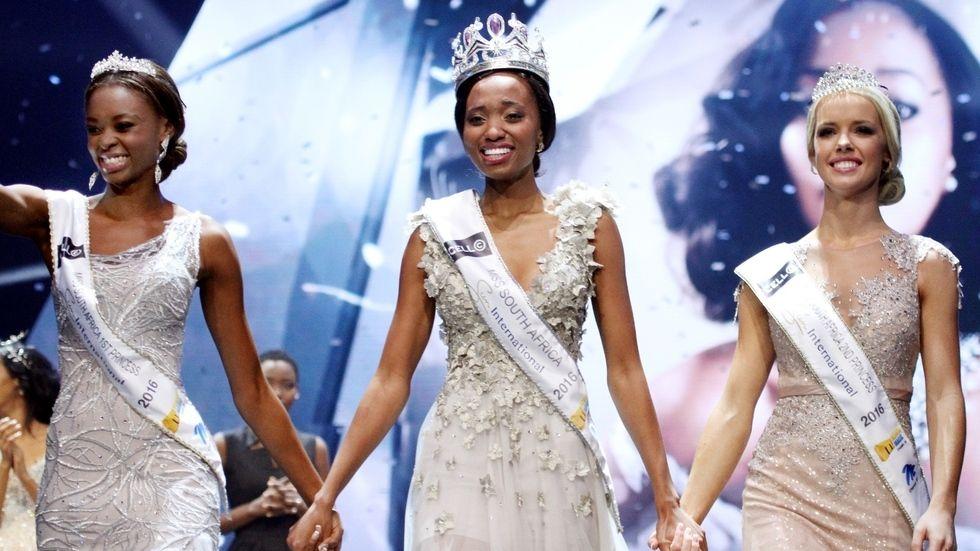 Elizabeth Molapo, Ntandoyenkosi Kunene and Tayla Skye Robinson.