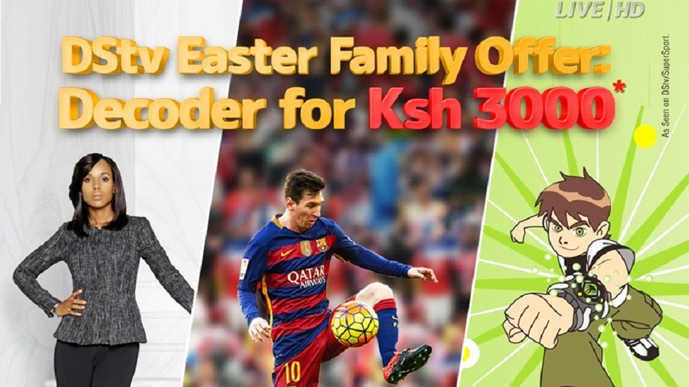 DStv Easter Compact offer at any Nakumatt outlets