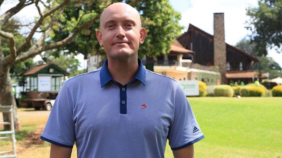 SuperSport Golf presenter Richard Maspero