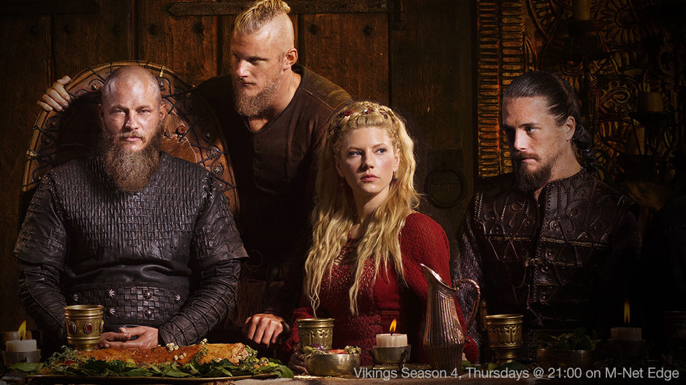 Binge on Vikings on M-Net Edge and DStv Now