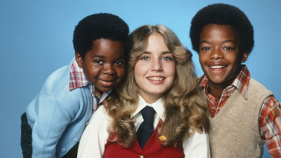 The cast of Diff'rent Strokes