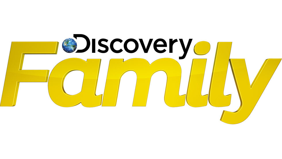 A logo for Discovery Family.