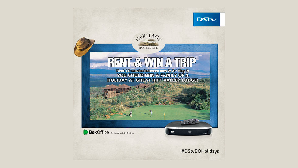 Rent and win comp in Kenya