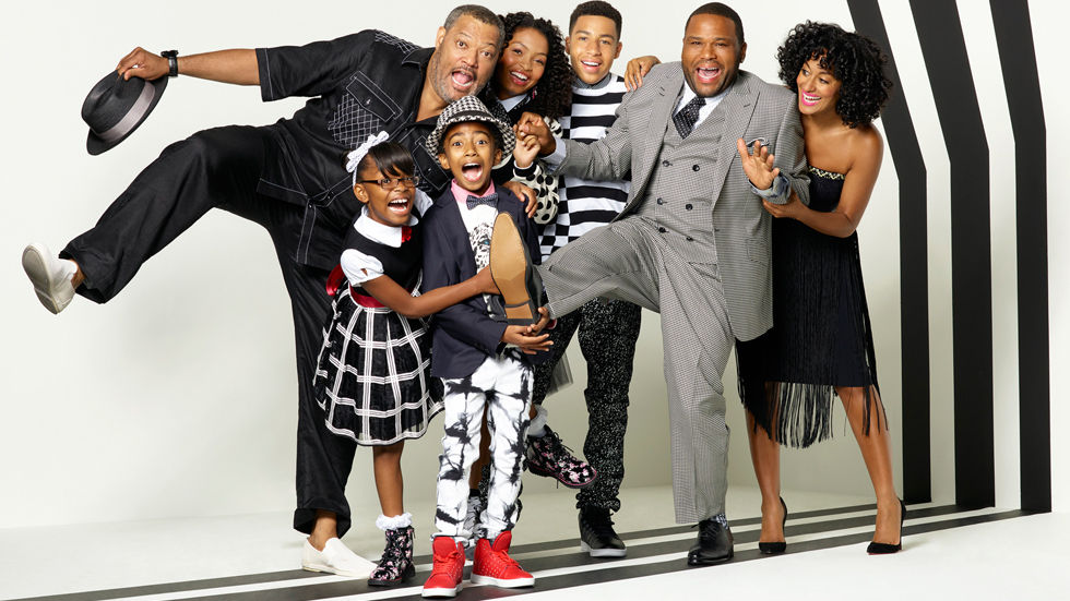 Cast image for the comedy TV series Black-ish