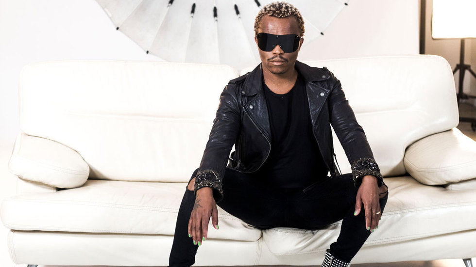 Dancer, presenter, choreographer, singer and actor Somizi Mhlongo.