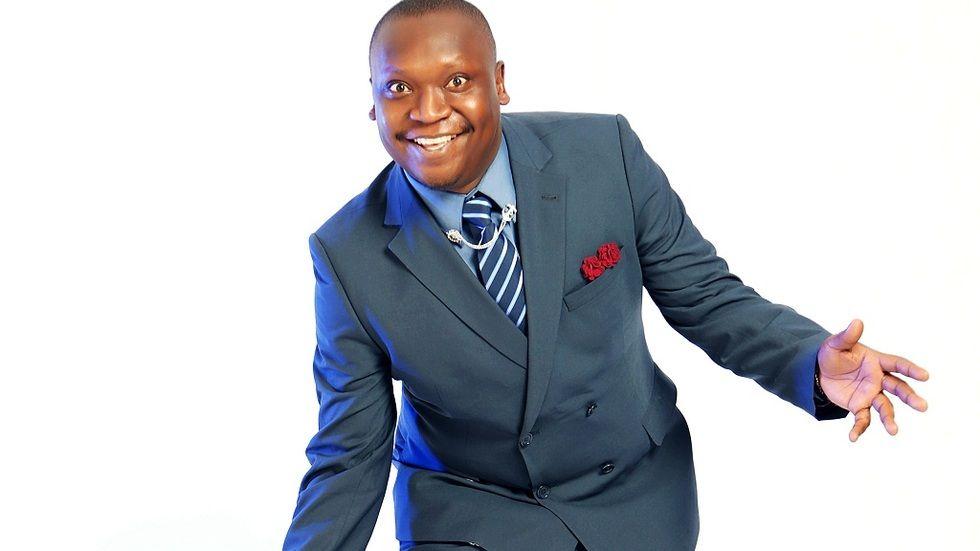 Ugandan comedian Salvado
