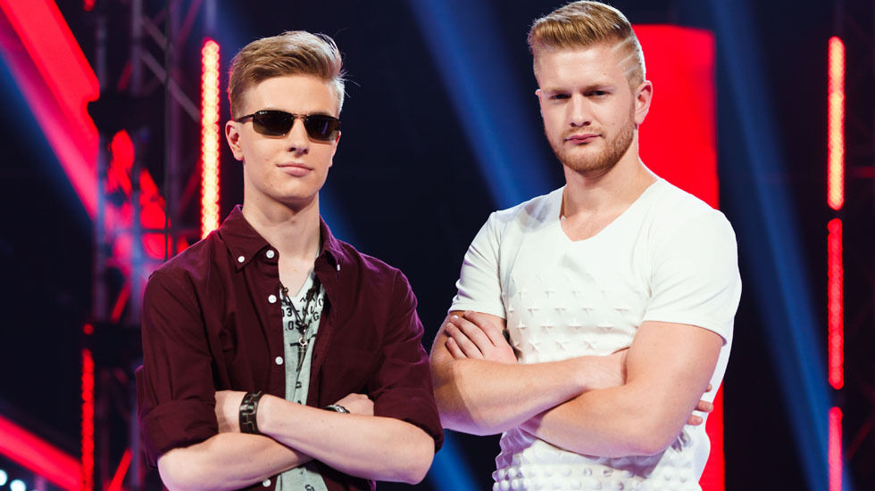 The finalists of the Voice SA.
