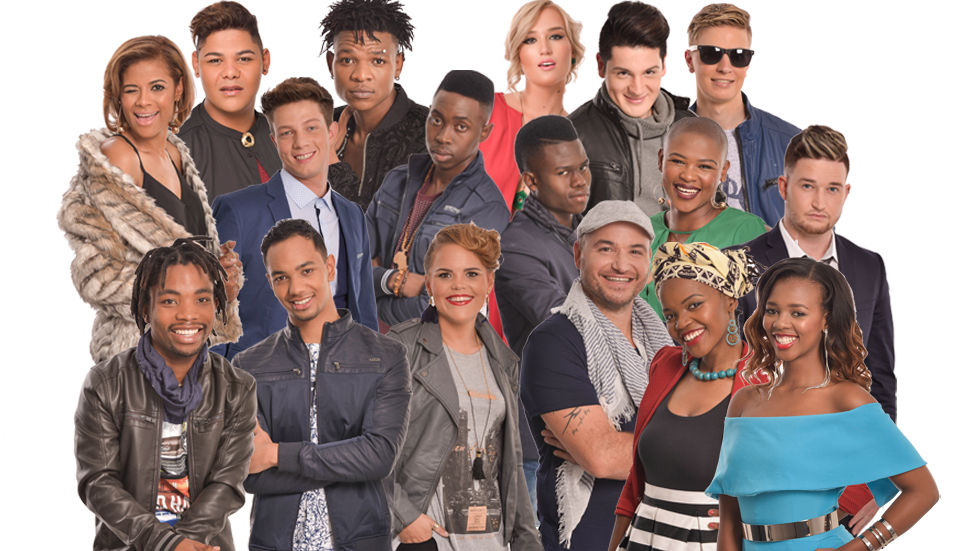 The Voice SA contestants.