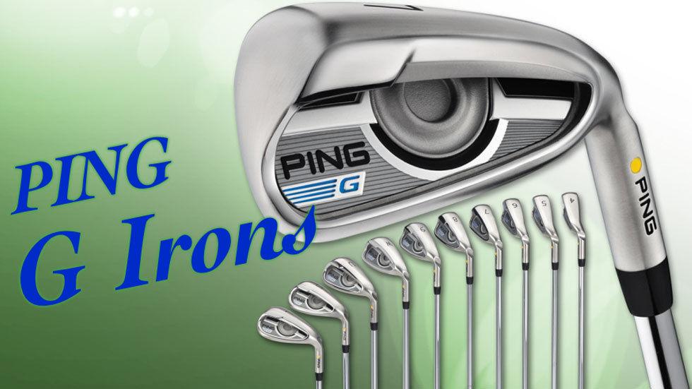 Ping G Irons Range