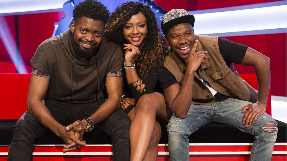 The crew of Ridiculousness Africa.