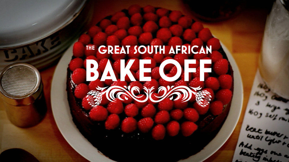 The official The Great South African Bake Off logo.