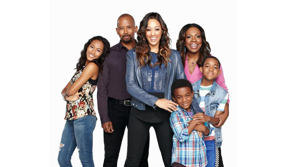 An image for the cast of Instant Mom with Tia Mowry.