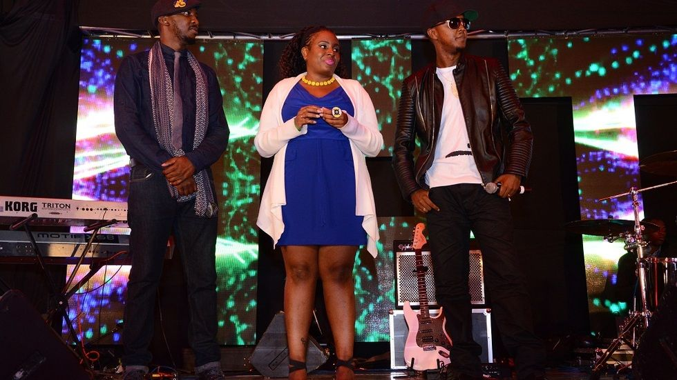 Judges at Airtel TRACE Music Star competition