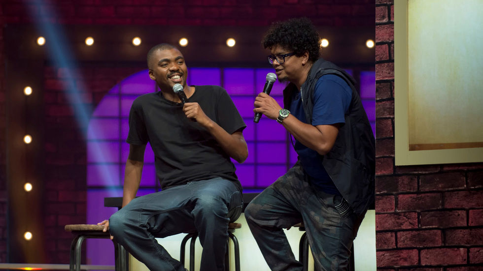 Joey Rasdien and Loyiso Gola.