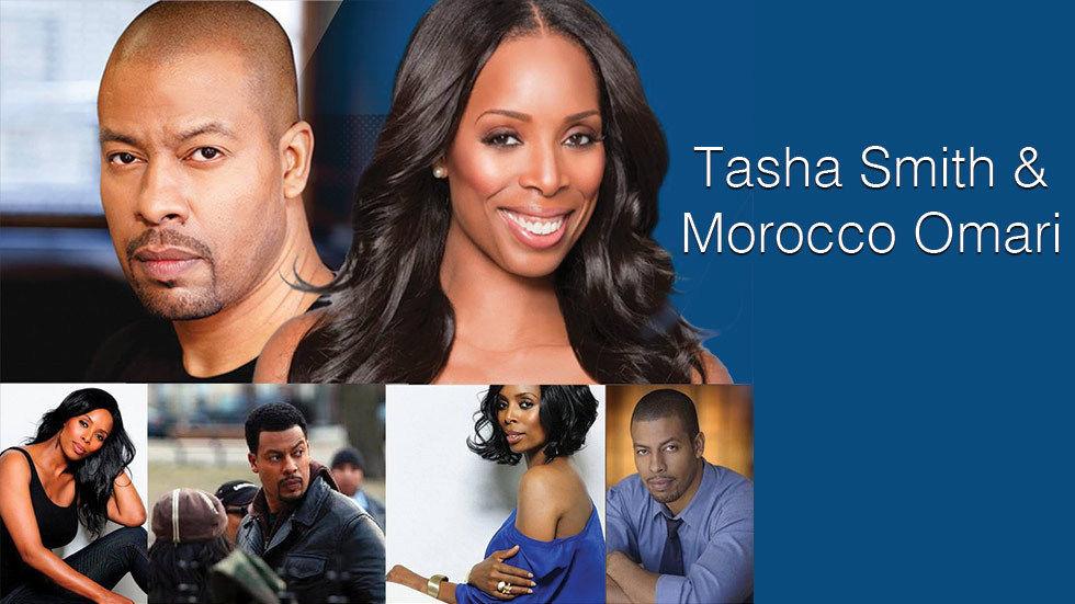 Tasha Smith and Morroco Omari competition