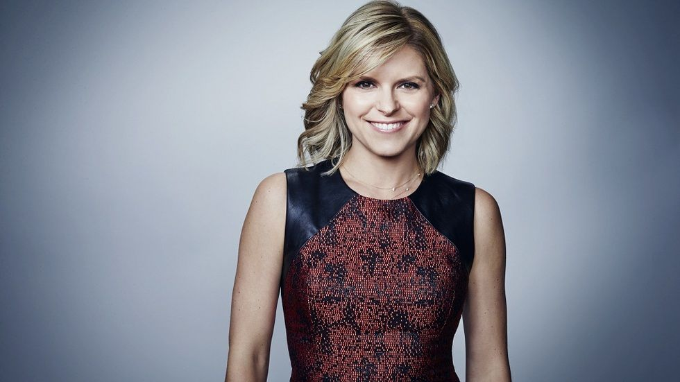 CNN host Kate Bolduan
