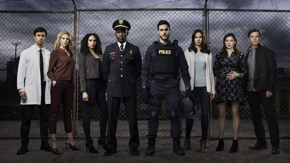 The cast of Containment
